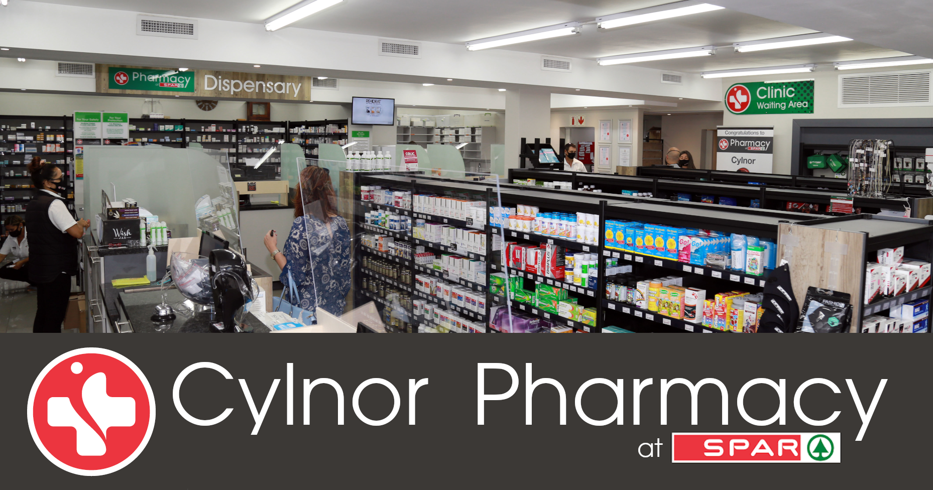 interior of a local pharmacy in somerset west